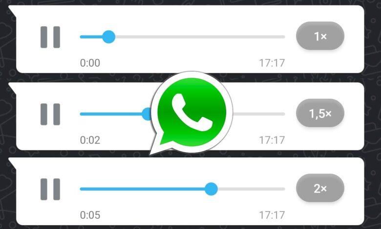 WhatsApp notas de audio