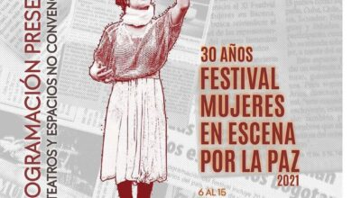 30 años del Festival Mujeres en escena por la Paz