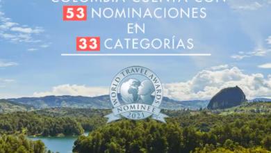 Colombia nominaciones turismo