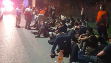 Hallados 141 migrantes centroamericanos en un tráiler al norte de México