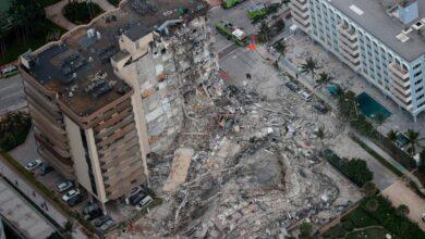 Seis colombianos vivían en edificio desplomado en Miami