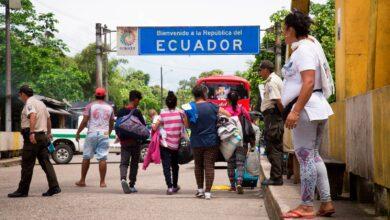 migrantes en Ecuador