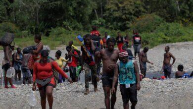 Migrantes frontera con Panamá
