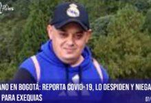 Murió periodista migrante despedido por tener Covid-19