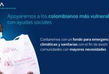 BBVA Colombia ayudas sociales