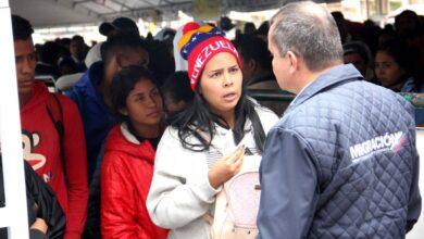 Cancelarán cita biométrica a migrantes que no hayan completado el RUMV