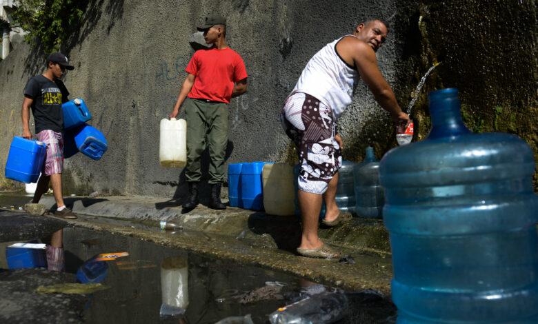 escasez de agua Vzla