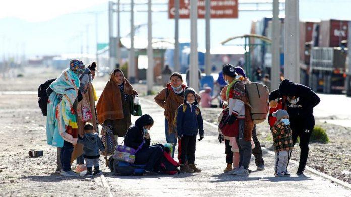 Migrantes en zona austral