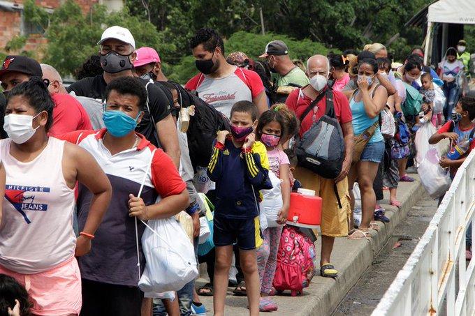 Acnur - OIM: Éxodo de Venezuela parece no tener fin